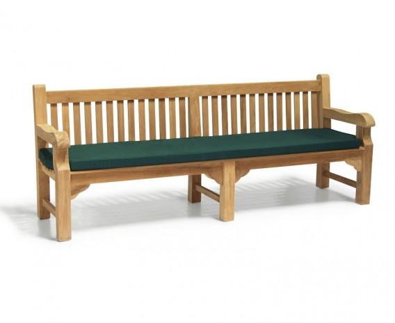 Enjoyable Balmoral Park Bench 8Ft Teak Street Bench 2 4M Lindsey Customarchery Wood Chair Design Ideas Customarcherynet