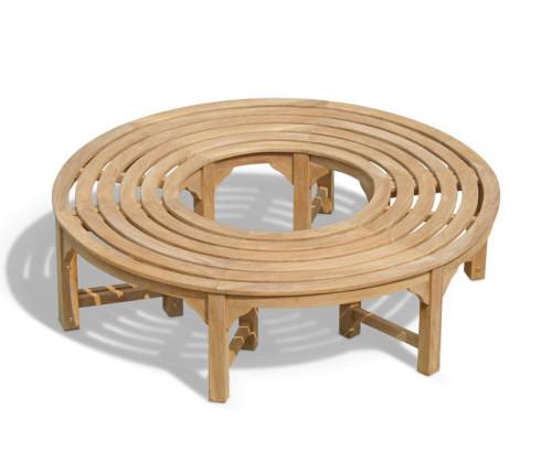 Circular Tree Seat Benches  Teak Wooden Tree Seats  Round Tree Seats