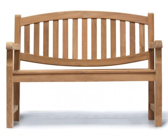 Ascot Teak 2 Seater Garden Bench Lindsey Teak