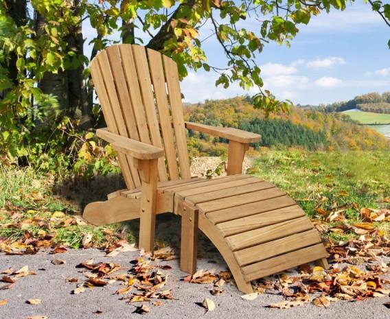 Lt110ns_bear_chair_1_lg; Bear Teak Adirondack Chair ...