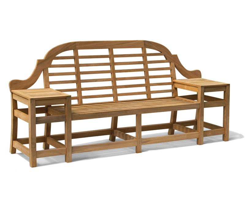Cheltenham Teak Decorative Bench 2 27m Lindsey Teak