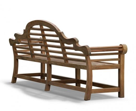 extra large lutyens teak bench 2 70m lindsey teak