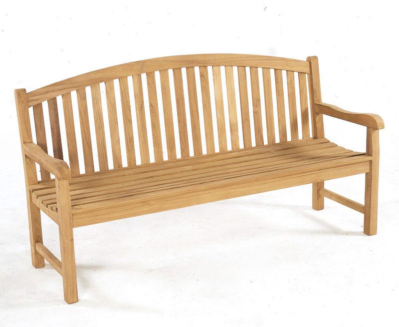 Clivedon Teak 4 Seater Garden Bench Lindsey Teak