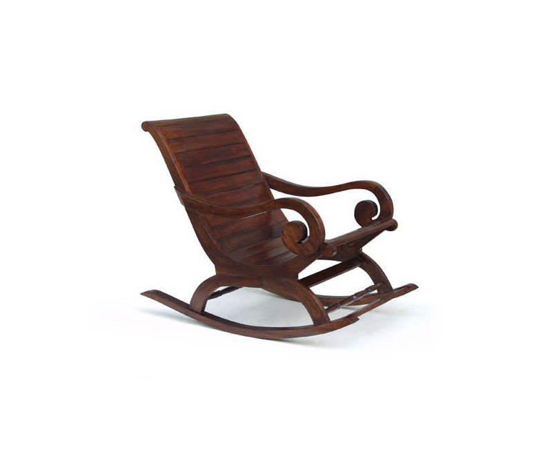 Capri Teak Rocking Plantation Chair Lindsey Teak
