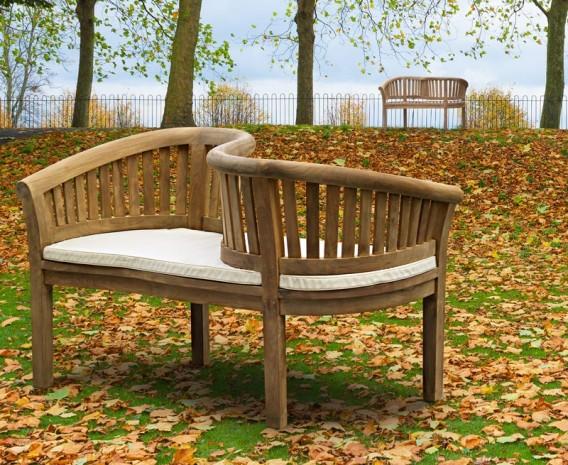 Teak Garden Love Seat Love Bench Lindsey Teak