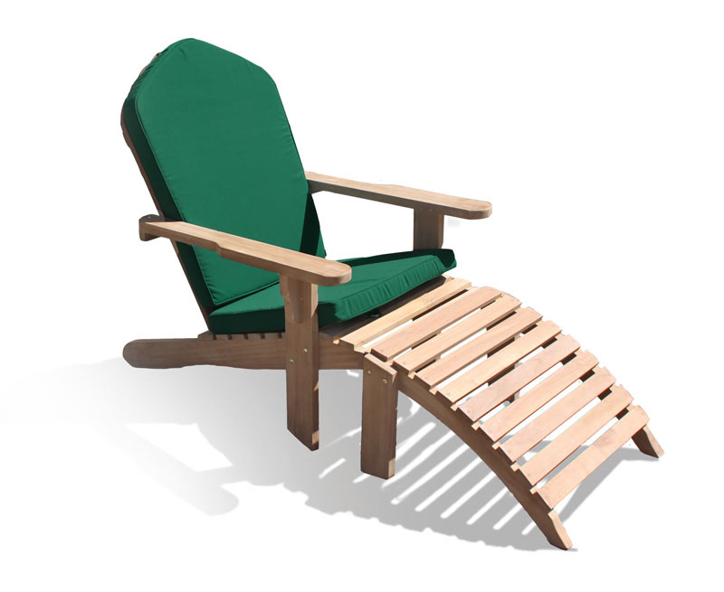 CC110 Adirondack With Cushion GREEN Lg ...