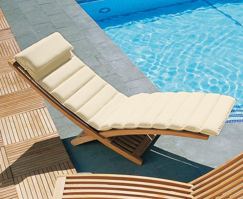 chelsea luxury sun lounger cushion lindsey teak rh lindseyteak com Outdoor Lounge Cushions Chaise Lounge Outdoor Cushions 21X72