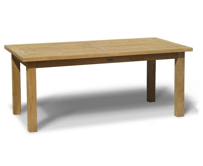 Balmoral 6ft Teak Garden Rectangular Table Lindsey
