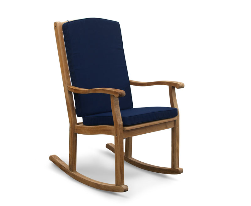 Merveilleux LT174_Rocking Chair Blue Cushion_L ...