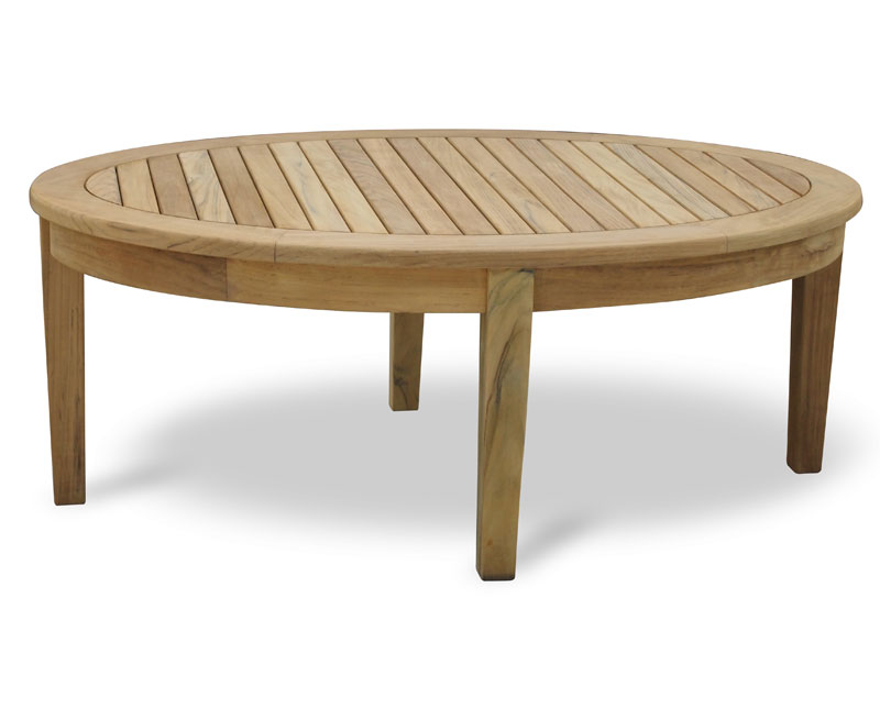Aria Teak Oval Coffee Table Lindsey Teak