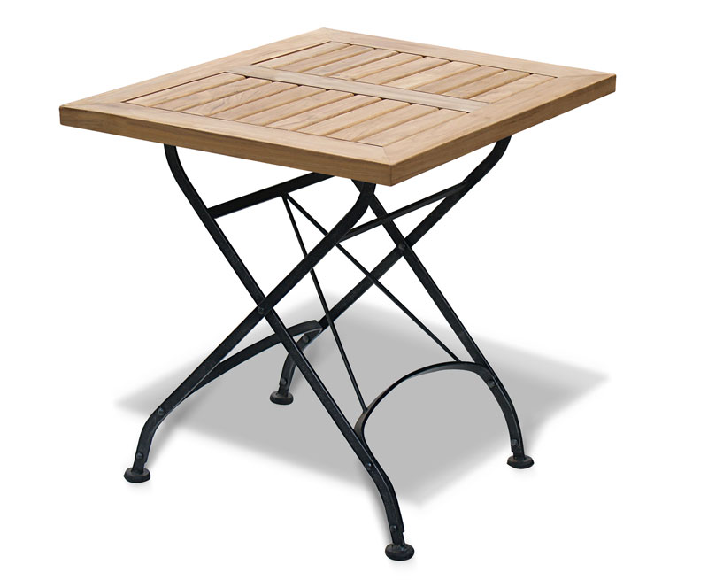 Square folding bistro table 60cm lindsey teak ltxxx bistro square table 60 lg 1g watchthetrailerfo