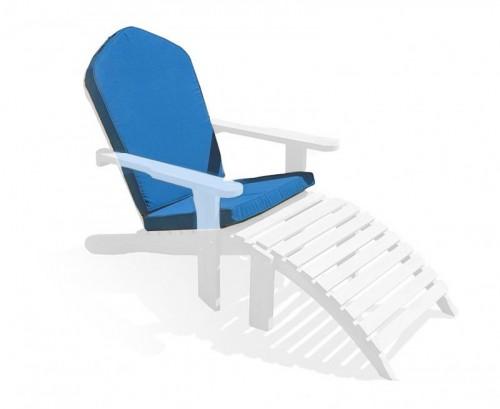 Azure Blue Adirondack Chair Cushion