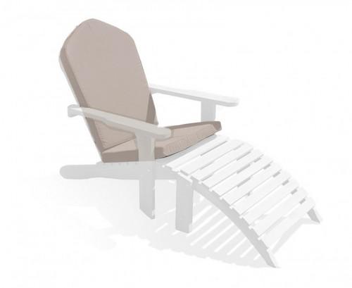 Taupe Adirondack Chair Cushion