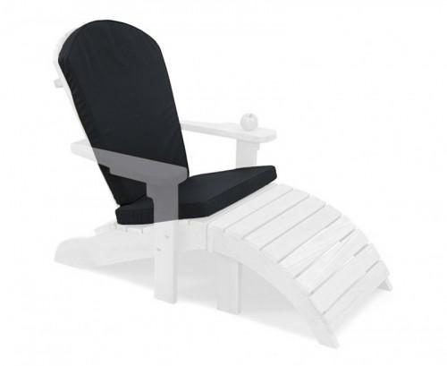 Black Adirondack Chair Cushion