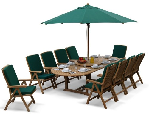Extending dining sets archives lindsey teak for 10 seater dining table sets