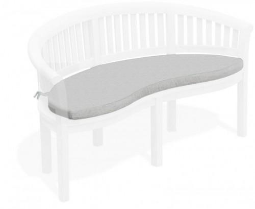 Grey Marl Banana Bench Cushion