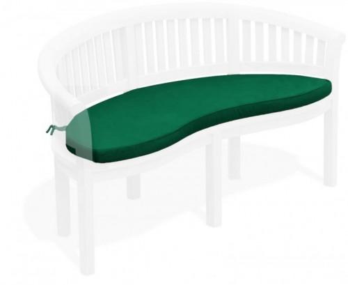 Forest Green Banana Bench Cushion