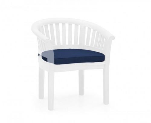 Navy Blue Banana Chair Cushion