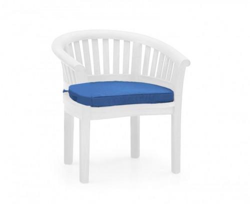 Azure Blue Banana Chair Cushion