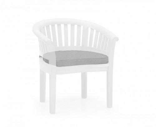 Grey Marl Banana Chair Cushion