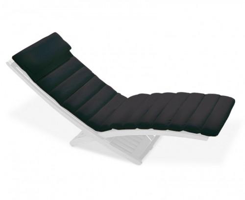 Black Chelsea Lounger Cushion