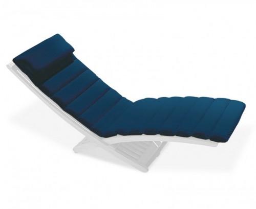 Navy Blue Chelsea Lounger Cushion
