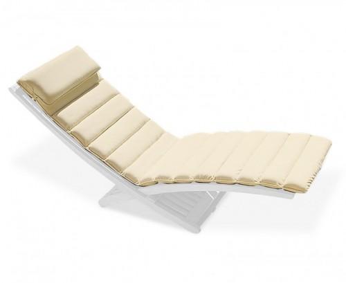 Natural Chelsea Lounger Cushion