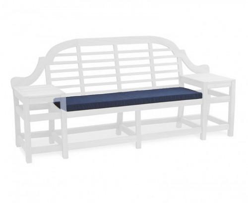 Navy Blue Cheltenham 3-Seater Bench Cushion
