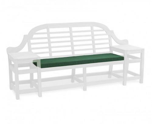 Forest Green Cheltenham 3-Seater Bench Cushion