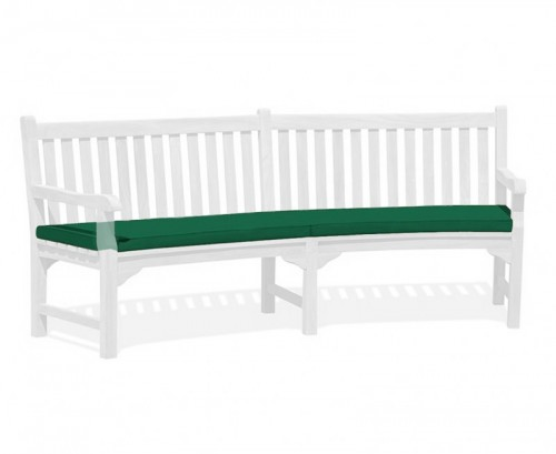 Forest Green Connaught Bench Cushion