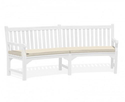 Natural Connaught Bench Cushion