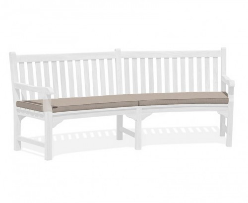 Taupe Connaught Bench Cushion