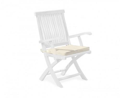 Natural Folding Garden Chair Cushion
