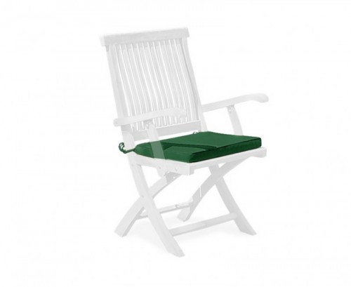 Forest Green Folding Garden Chair Cushion