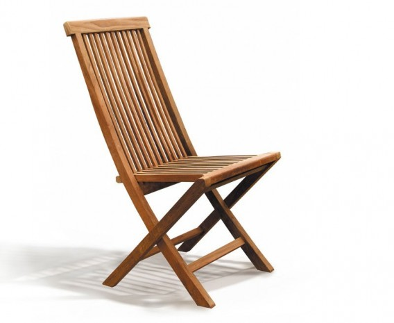 Ashdown folding round garden table and chairs set lindsey teak - Round teak table and chairs ...