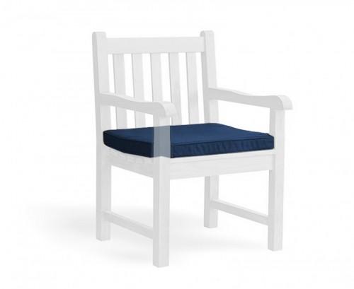 Navy Blue Garden Armchair Cushion