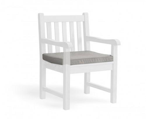 Grey Marl Garden Armchair Cushion