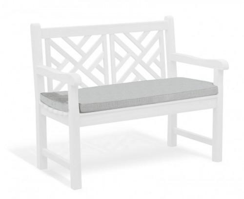 Grey Marl 2-Seater Garden Bench Cushion