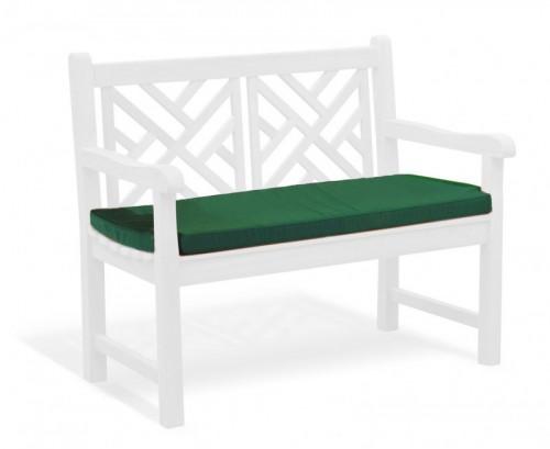 Forest Green 2-Seater Garden Bench Cushion