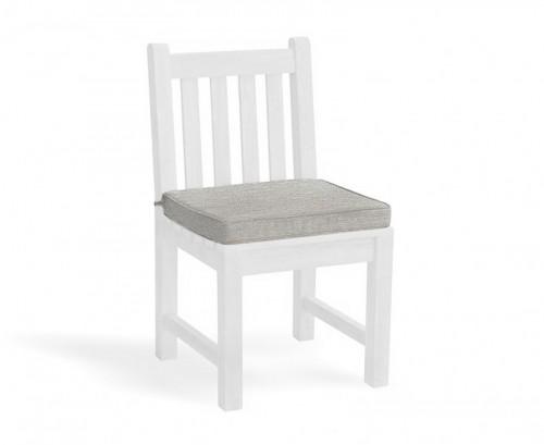 Grey Marl Garden Dining Chair Cushion