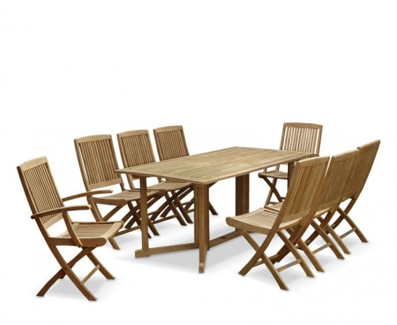 ... garden-drop-leaf-table-and-chairs-set-shelly- ...  sc 1 st  Lindsey Teak & Shelley Six Seat Garden Drop Leaf Table and Chairs Set - Lindsey Teak