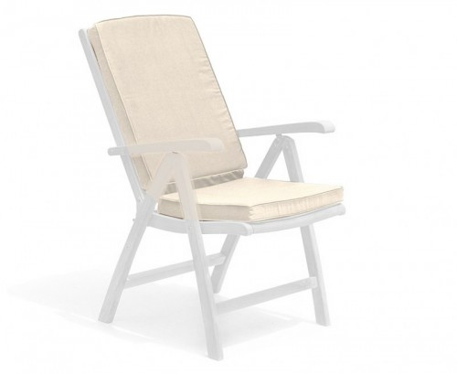 Natural Garden Recliner Chair Cushion