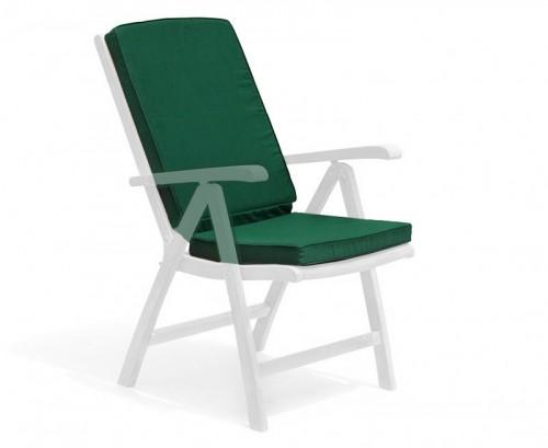 Forest Green Garden Recliner Chair Cushion