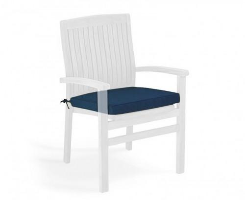 Navy Blue Garden Seat Cushion