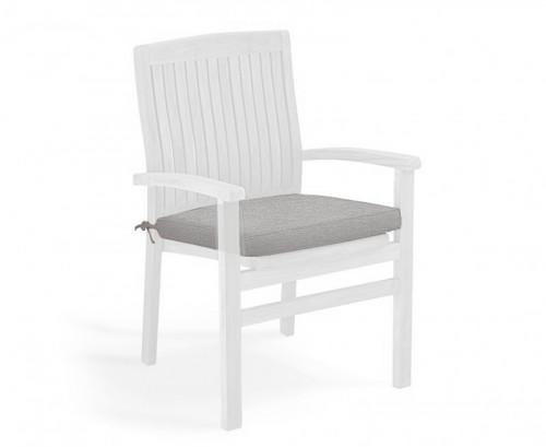 Grey Marl Garden Seat Cushion
