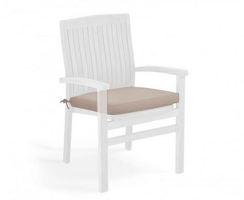 Taupe Garden Seat Cushion