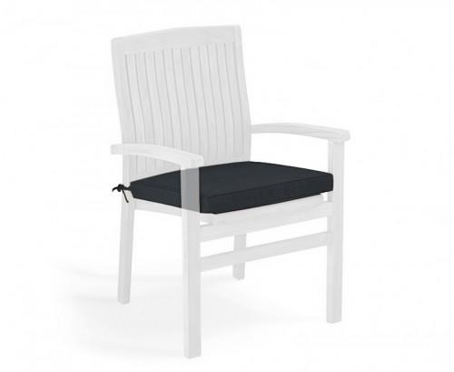 Black Garden Seat Cushion