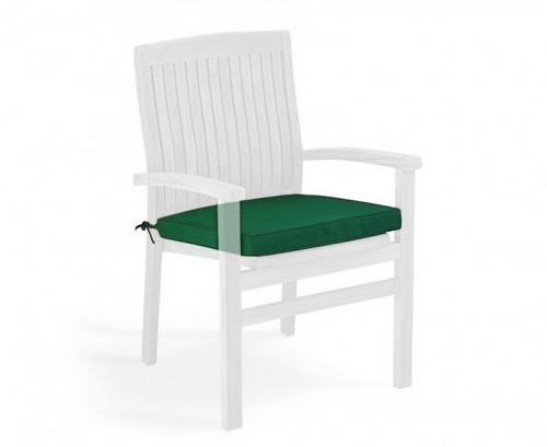 Forest Green Garden Seat Cushion