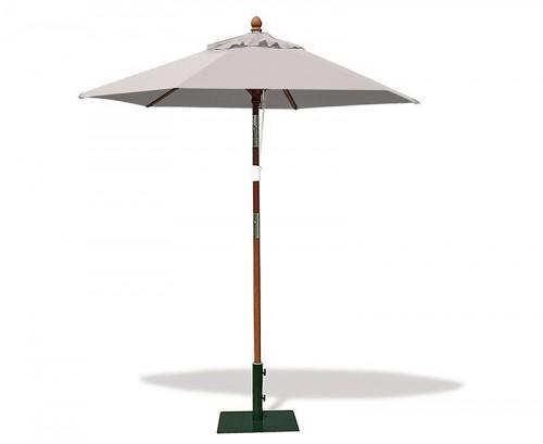Grey 2m Hexagonal Parasol
