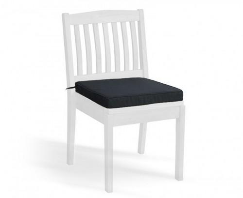 Black Hilgrove Stackable Chair Cushion